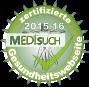 Medisuch Zertifikat 2015/16